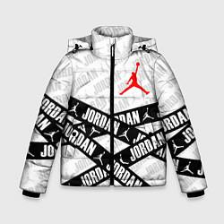 Куртка зимняя для мальчика MICHAEL JORDAN 23 цвета 3D-черный — фото 1