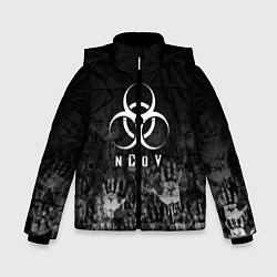 Куртка зимняя для мальчика NCoV цвета 3D-черный — фото 1