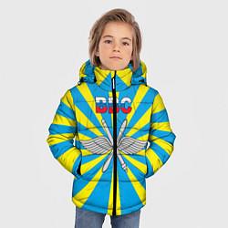 Куртка зимняя для мальчика Флаг ВВС цвета 3D-черный — фото 2