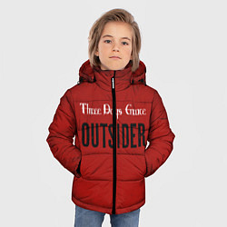Куртка зимняя для мальчика Three days grace Outsider цвета 3D-черный — фото 2