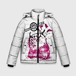 Куртка зимняя для мальчика Three days grace цвета 3D-черный — фото 1