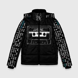 Куртка зимняя для мальчика Loading цвета 3D-черный — фото 1