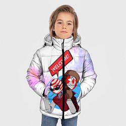 Куртка зимняя для мальчика Country Humans цвета 3D-черный — фото 2