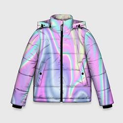 Куртка зимняя для мальчика Vaporwave цвета 3D-черный — фото 1