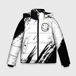 Куртка зимняя для мальчика NIRVANA цвета 3D-черный — фото 1
