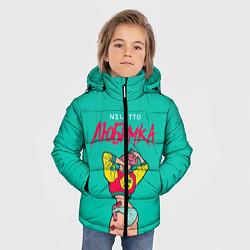 Детская зимняя куртка для мальчика с принтом NILETTO: Любимка, цвет: 3D-черный, артикул: 10210967906063 — фото 2