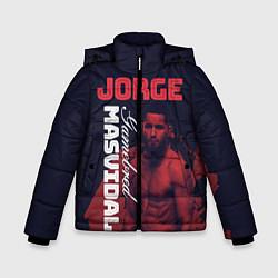 Куртка зимняя для мальчика Jorge Masvidal цвета 3D-черный — фото 1