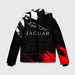 Куртка зимняя для мальчика Jaguar цвета 3D-черный — фото 1