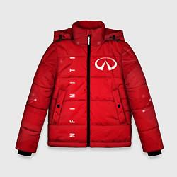Куртка зимняя для мальчика Infinity цвета 3D-черный — фото 1