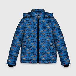 Куртка зимняя для мальчика To Hell And Back цвета 3D-черный — фото 1