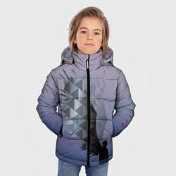 Куртка зимняя для мальчика Castiel цвета 3D-черный — фото 2
