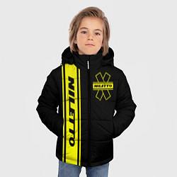 Куртка зимняя для мальчика NILETTO цвета 3D-черный — фото 2