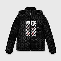 Детская зимняя куртка для мальчика с принтом Juice WRLD, цвет: 3D-черный, артикул: 10213869106063 — фото 1
