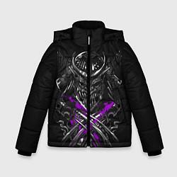 Куртка зимняя для мальчика Шредер Черепашки-ниндзя цвета 3D-черный — фото 1