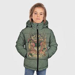 Куртка зимняя для мальчика Saturday Madness цвета 3D-черный — фото 2