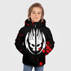 Куртка зимняя для мальчика THE OFFSPRING цвета 3D-черный — фото 2