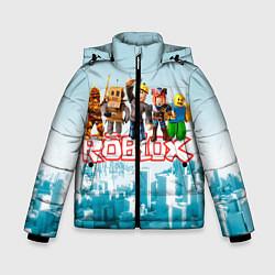 Куртка зимняя для мальчика ROBLOX 5 цвета 3D-черный — фото 1