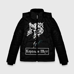 Куртка зимняя для мальчика КИШ цвета 3D-черный — фото 1