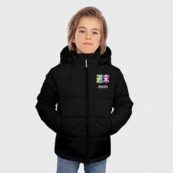 Куртка зимняя для мальчика Dream цвета 3D-черный — фото 2