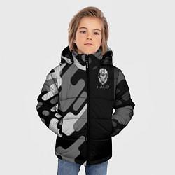 Куртка зимняя для мальчика Halo цвета 3D-черный — фото 2