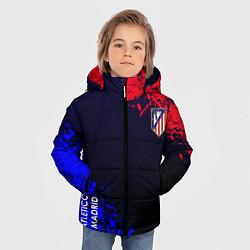Куртка зимняя для мальчика Atletico Madrid цвета 3D-черный — фото 2