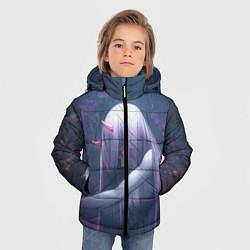 Куртка зимняя для мальчика DARLING IN THE FRANXX цвета 3D-черный — фото 2