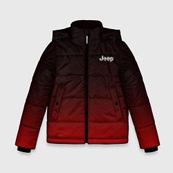 Детская зимняя куртка для мальчика с принтом Jeep спина Z, цвет: 3D-черный, артикул: 10237334506063 — фото 1