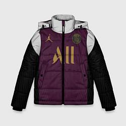 Куртка зимняя для мальчика Third Jordan 20-21 цвета 3D-черный — фото 1