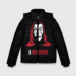 Куртка зимняя для мальчика VALORANT цвета 3D-черный — фото 1