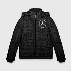 Куртка зимняя для мальчика MERCEDES-BENZ AMG цвета 3D-черный — фото 1