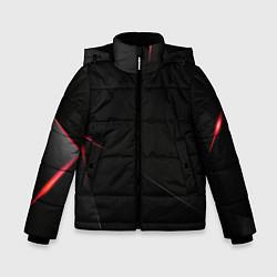 Куртка зимняя для мальчика DARK цвета 3D-черный — фото 1