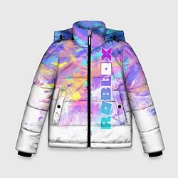Куртка зимняя для мальчика Roblox цвета 3D-черный — фото 1