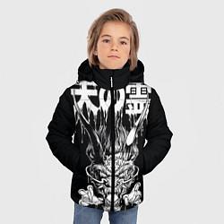 Куртка зимняя для мальчика Devil цвета 3D-черный — фото 2