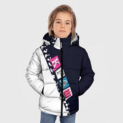 Куртка зимняя для мальчика Краш цвета 3D-черный — фото 2