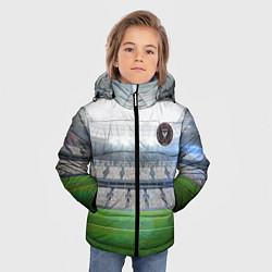 Детская зимняя куртка для мальчика с принтом FC INTER MIAMI, цвет: 3D-черный, артикул: 10256803706063 — фото 2