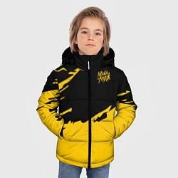 Куртка зимняя для мальчика МАКС КОРЖ цвета 3D-черный — фото 2