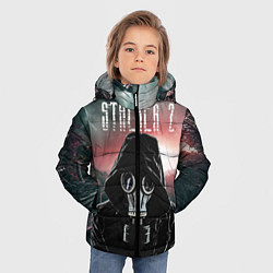 Куртка зимняя для мальчика Stalker 2 Зона цвета 3D-черный — фото 2