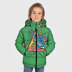 Куртка зимняя для мальчика Bright цвета 3D-черный — фото 2