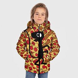 Куртка зимняя для мальчика ЛЮЦИ цвета 3D-черный — фото 2