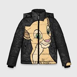 Куртка зимняя для мальчика Nala: The Lion King цвета 3D-черный — фото 1