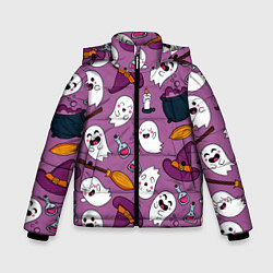 Куртка зимняя для мальчика Halloween 2020 цвета 3D-черный — фото 1