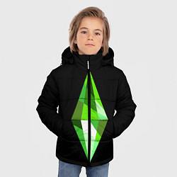 Куртка зимняя для мальчика The Sims Plumbob цвета 3D-черный — фото 2