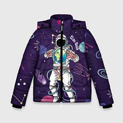 Куртка зимняя для мальчика Elon Musk цвета 3D-черный — фото 1