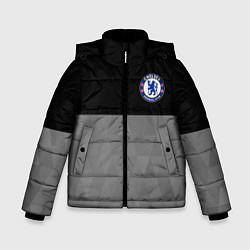 Куртка зимняя для мальчика Chelsea London цвета 3D-черный — фото 1