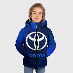 Куртка зимняя для мальчика TOYOTA ТОЙОТА цвета 3D-черный — фото 2