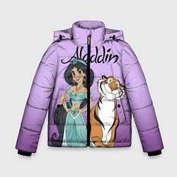 Куртка зимняя для мальчика Жасмин цвета 3D-черный — фото 1