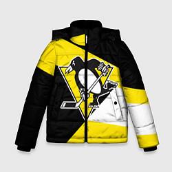 Куртка зимняя для мальчика Pittsburgh Penguins Exclusive цвета 3D-черный — фото 1