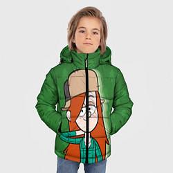 Куртка зимняя для мальчика Венди Кордрой цвета 3D-черный — фото 2