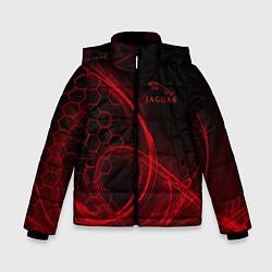 Куртка зимняя для мальчика Ягуар Jaguar цвета 3D-черный — фото 1