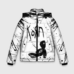 Куртка зимняя для мальчика Korn цвета 3D-черный — фото 1